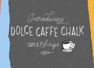 Dolce Caffè Chalk 4 fonts