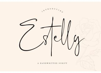 Estelly Stylish Signature Font