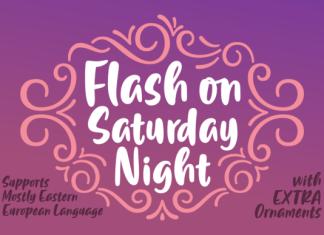 Flash on Saturday Night