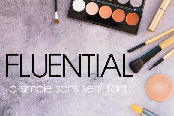 Fluential Font