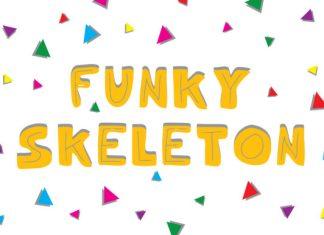 Funky Skeleton Font