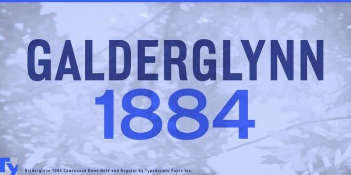 Galderglynn 1884 Font Family