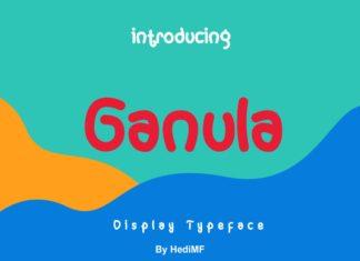 Ganula Font