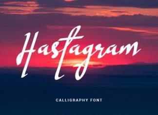 Hastagram Font