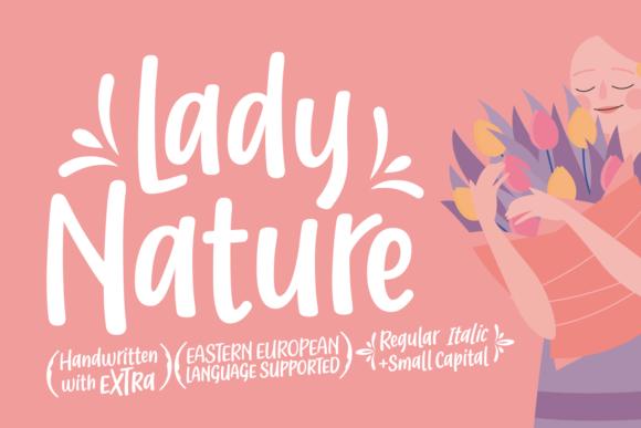 Lady Nature Font