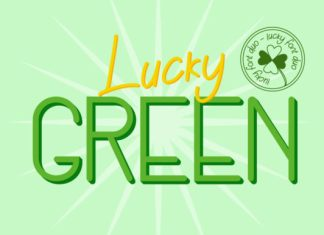 Lucky Green Duo Font