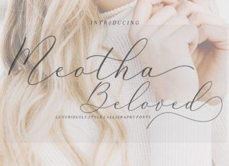 Meotha Beloved Font