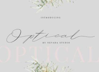 Optical Font