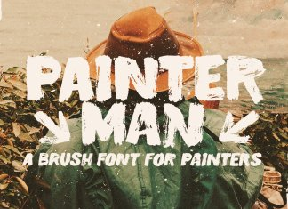 Painterman Brush Font