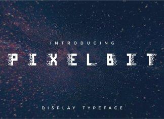 Pixel Bit Typeface