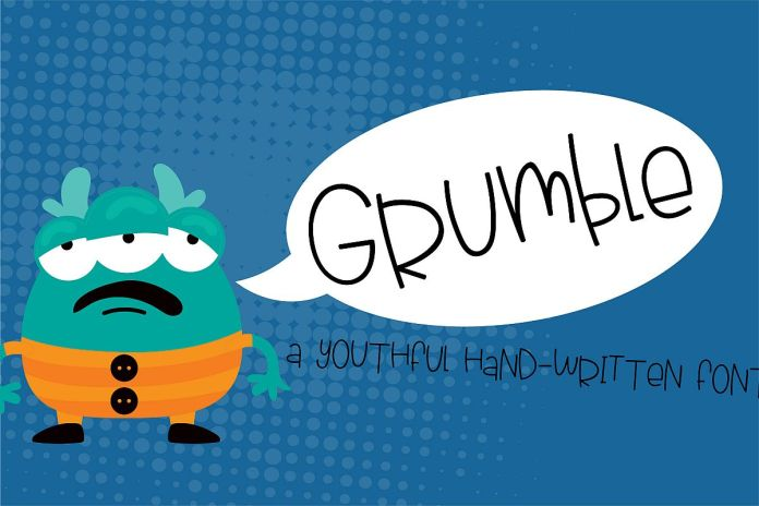 PN Grumble Regular Font
