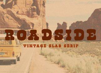 Roadside | Vintage Slab Serif