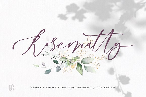 Rosematty Font