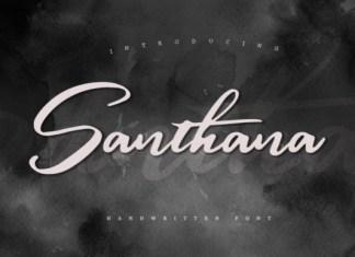 Santhana Font