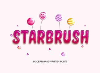 Starbrush Font