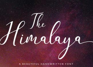 The Himalaya Font