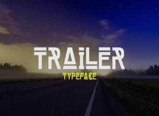 Trailer Font