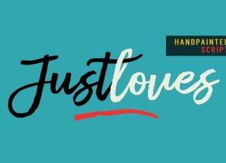 Justloves Font