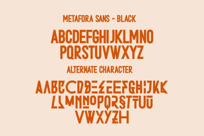 Stereohead Brush Font SVG