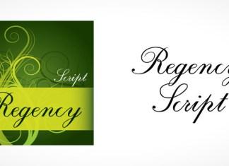 Regency Script Font