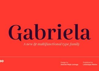 Gabriela Font Family
