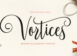 Vortices Font