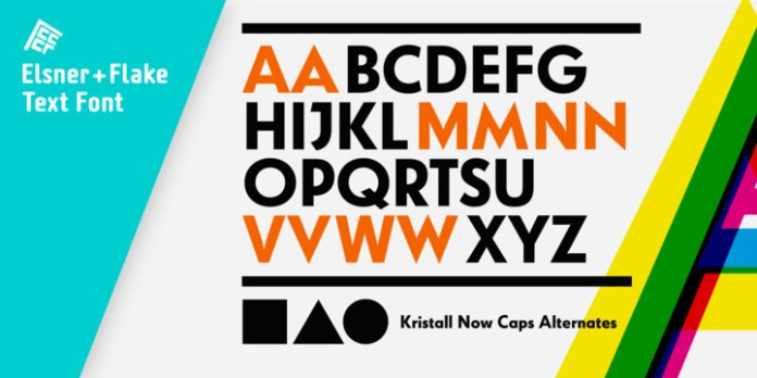 Kristall Now Pro Font Family