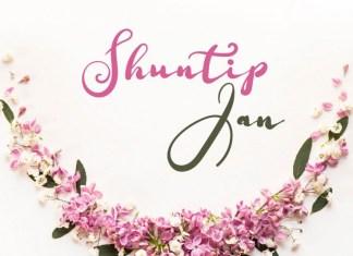 Shuntip Jan Script Font