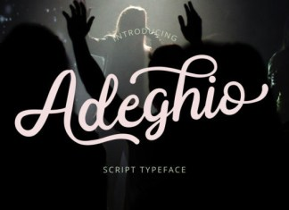 Adeghio Font
