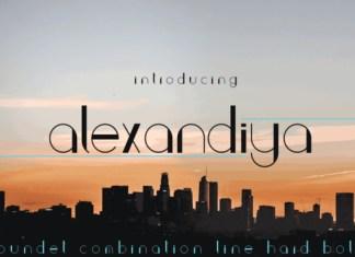 Alexandiya Font