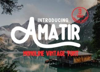 Amatir Font