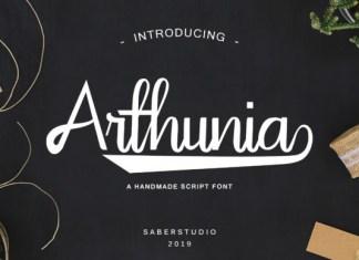 Arthunia Script