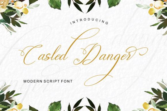 Casled Danger Font