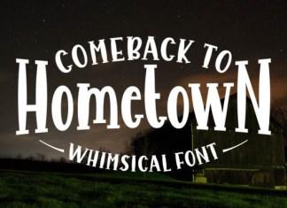 Comeback to Hometown