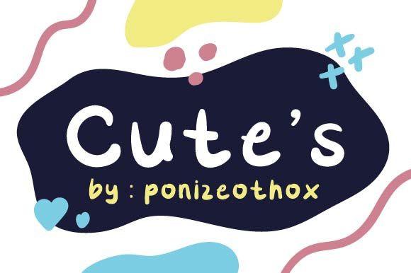 Cute's Font