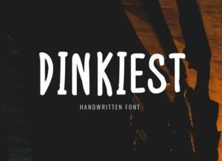 Dinkiest Font