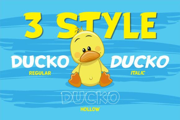 Ducko Font