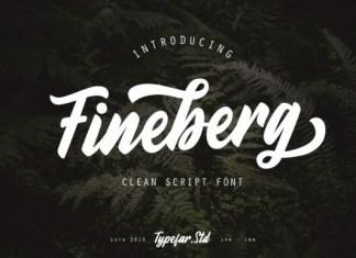 Fineberg Font