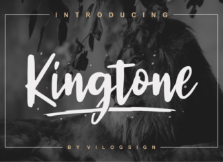 Kingtone Font