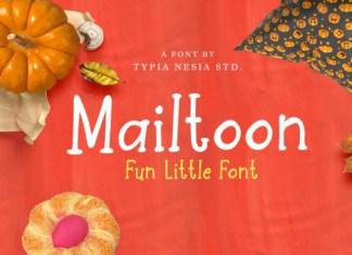 Mailtoon Font