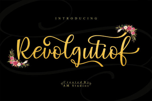 Revolgutiof Font