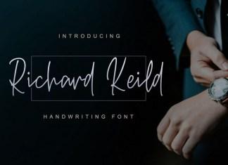 Richard Keild Script Font
