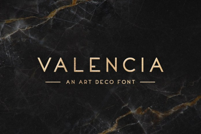 Valencia Typeface Font