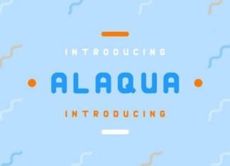 Alaqua Regular Font