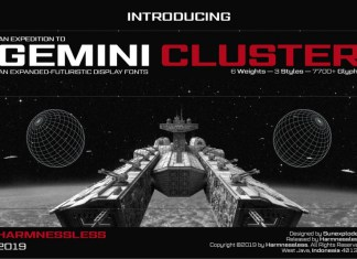 Gemini Cluster - Expanded Fonts