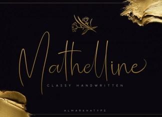 Mathelline - Classy Handwritten