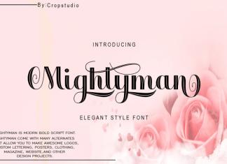 Mightyman Font