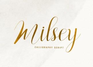 Milsey Font