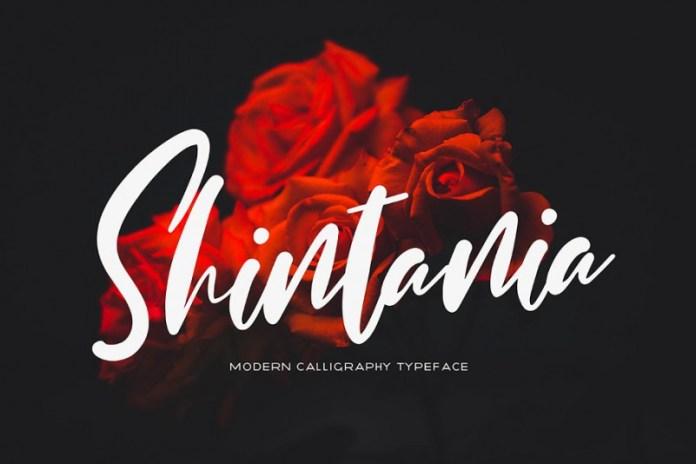 Shintania Font