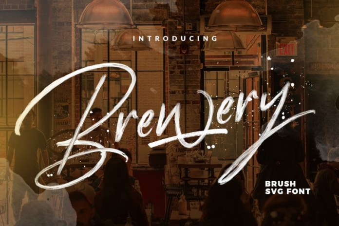 Brewery - SVG FONT
